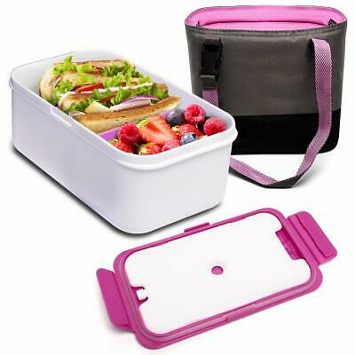 Bento Box Lunch Container, BOQUN 1400ML Reusable Divided Meal Carrier BPA-Free