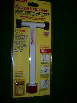 Glazebreaker Double Glazing Emergency Escape Tool