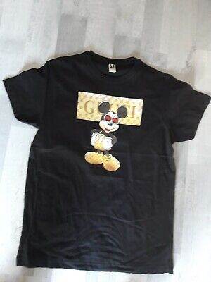 Conception innovante original à chaud magasins populaires TEE SHIRT MAILLOT homme GUCCI gang Mickey mouse Disney no porté neuf