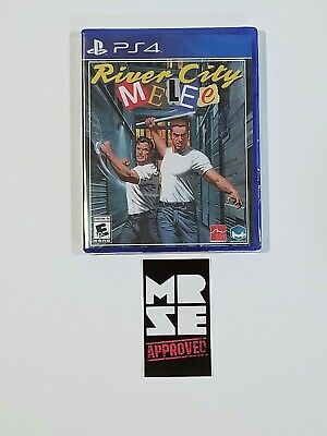 River City Melee Limited Run Games #103 for PS4 (PlayStation 4) New Sealed
