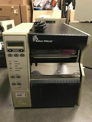 ZEBRA 140XIII PARALLEL THERMAL TRANSFER LABEL BARCODE PRINTER Z140
