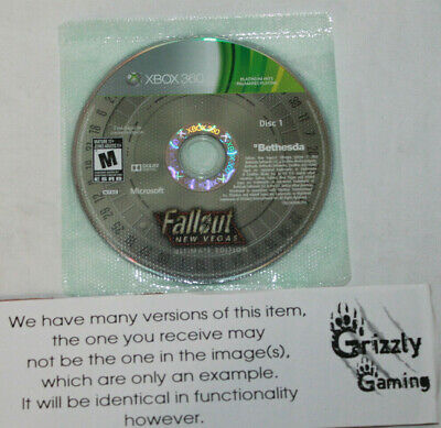 USED Fallout New Vegas Ultimate Edition Microsoft XBOX 360 (NTSC) DISC ONLY!!