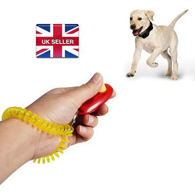 Dog Pet Training Clicker Teaching Trainer Tool Dogs Puppy Puppies Click Train Uk