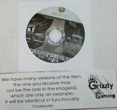 USED Transformers: The Game Microsoft XBOX 360 (NTSC) DISC ONLY!!