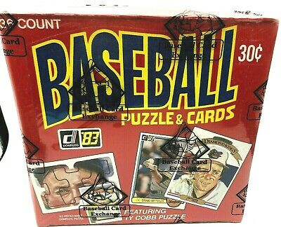 1983 Donruss Baseball Box FASC 36ct Pack BBCE Wrapped (From A Sealed Case) FRESH