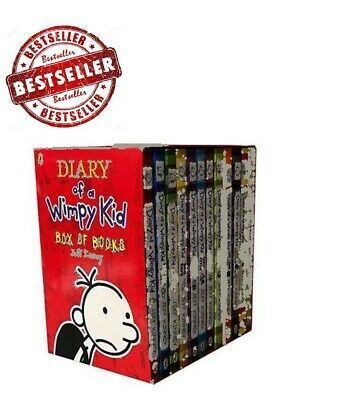 Diary of a Wimpy Kid Box Set Collection - 12 Books 2018 Children