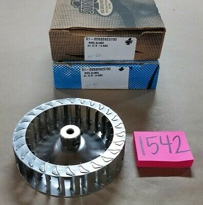 """Lot of 2 New SOURCE 1 HVAC Parts S1-02632623700 Blower Wheel 4""""×1"""" 1/4"""" Bore"""