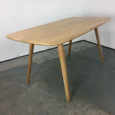 UK DELIVERY, Vintage Ercol Blonde Plank  Dining Table,Chair Sideboard Daybed