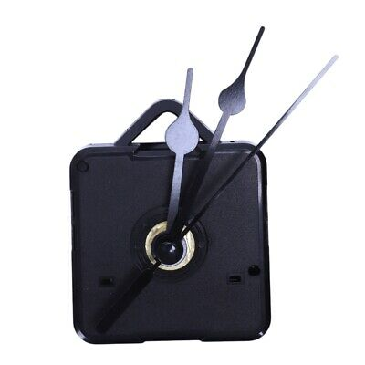 1X(Diy Clock Mechanism Classic Hanging Black Quartz Watch Wall Clock Moveme W9S3