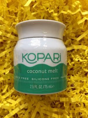 KOPARI Organic Coconut Melt 2.5oz/75mL BIGGER Travel Size - NEW, FREE SHIP!