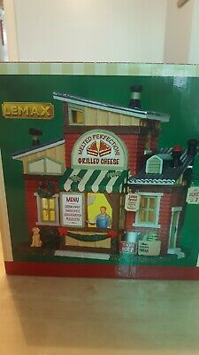 Lemax Christmas Village Melted Perfection Grilled Cheese Brand New