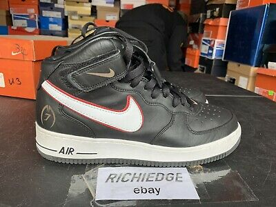 35c4925bf6d6 Nike Air Force 1 Mid LTD Michael Vick Worn Once Size 10.5 100% Authentic
