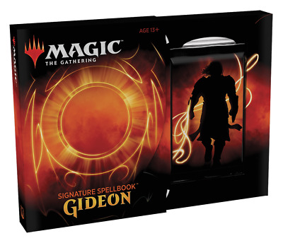 Signature Spellbook Gideon Magic the Gathering Preorder Sealed NIB NEW
