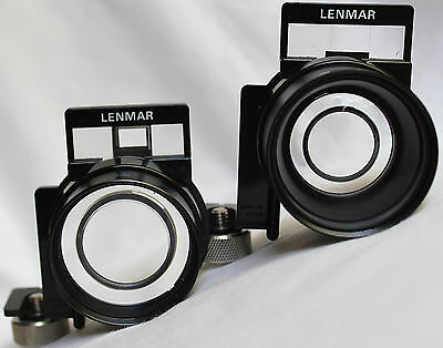 Lenmar Telephoto & Wide Angle 2M (6.5 ft.) - Auxiliary Lenses Set of 2