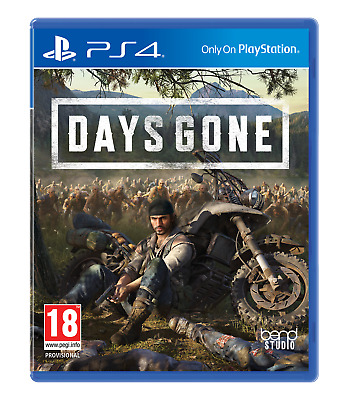 Days Gone + Patches (PlayStation 4)