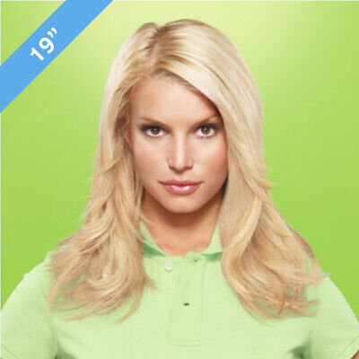 [DAMAGED PACKAGING] Jessica Simpson Hairuwear Clip-in Hair Extensions, STRAIGHT