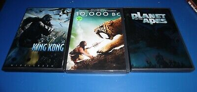 KING KONG, RISE of Planet Apes, Jurassic World, The Last