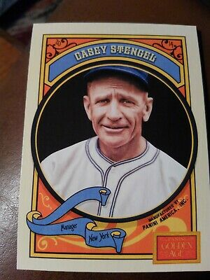 Casey Stengel 2014 Panini Golden Age #35 Free Shipping