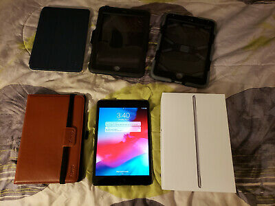 Apple iPad Mini 4 128GB, Wi-Fi + Cellular (Verizon) - Space Gray