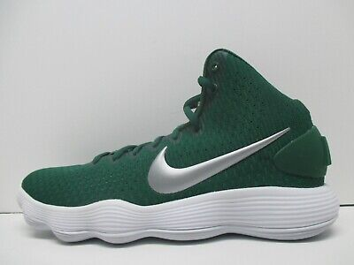 83c4c81c9d49 NEW NIKE Hyperdunk 2017 Mid Basketball Shoes - Green Silver - 897808 300 Sz  13