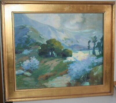 Contemporary Impressionism Oil Painting Mountain Landscape