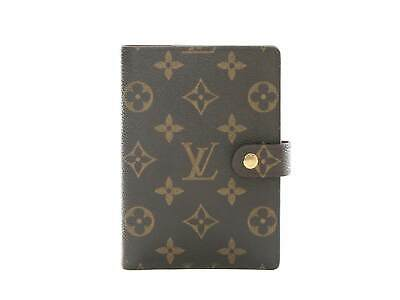 Authentic Louis Vuitton Monogram Agenda PM notebook