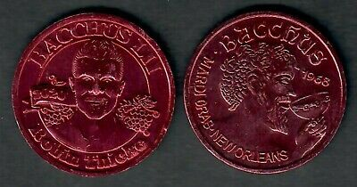 Star of House * Mardi Gras doubloon 2014 Bacchus King Hugh Laurie