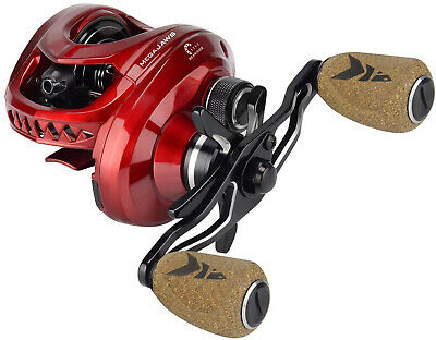 KastKing MegaJaws Baitcasting Reel, Industry First Color-Coded Gear Ratios from