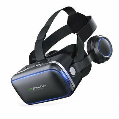 Shinecon 6.0 Casque VR Virtual Reality Glasses 3D 3d Goggles Headset Helmet DR