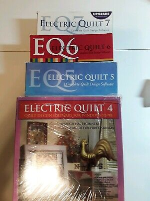 Electric quilt software