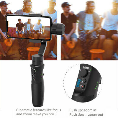 Hohem iSteady Mobile 3-Axis Handheld Stabilizer Gimbal for iPhone / Android N0B9