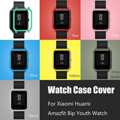 For Xiaomi Huami Amazfit Bip Youth Watch Colorful PC Bumper Case Cover Protect