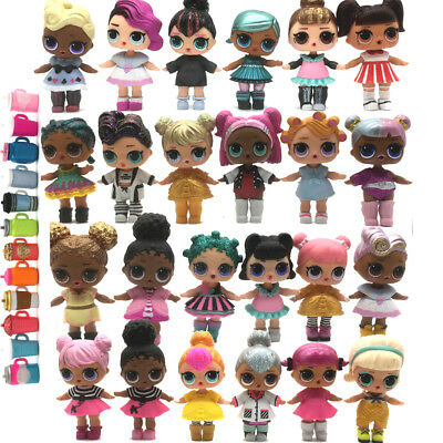 Lot 10Pcs ❤️LOL Surprise Dolls UNICORN Kitty Queen Punk boy toy RANDOM no repeat
