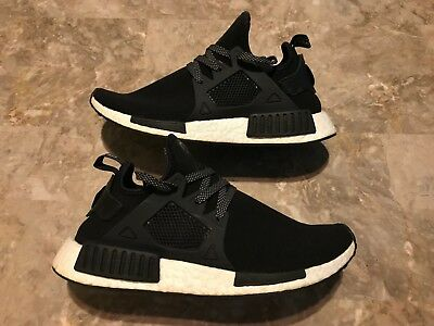 be154eb9e4d1e Adidas NMD XR1 Europe Exclusive Black White Running Shoes Boost Size 9.5  BY3050