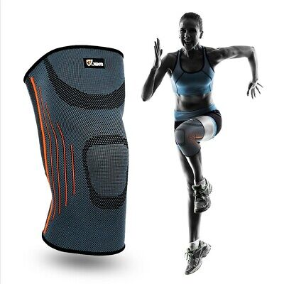 Knee Support Brace Compression Sleeve Arthritis Pain Relief Gym Sports Running