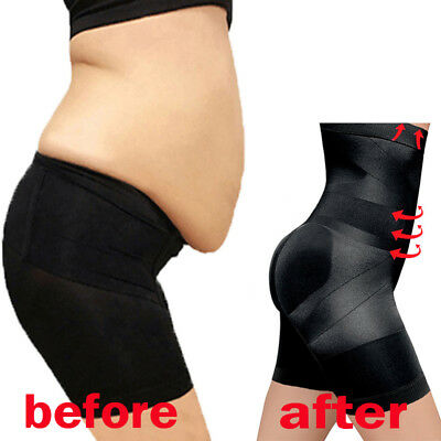 Women's Tummy Control Shaper Girdle Pants High Waist Shorts Slim body Full shape