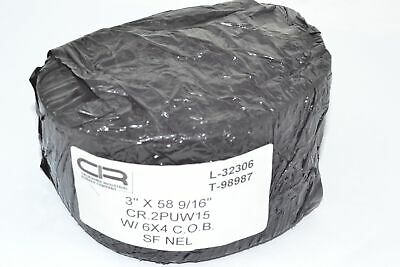 NEW California Industrial Rubber CR.2PUW15 3'' x 58 9/16'' SF NEL