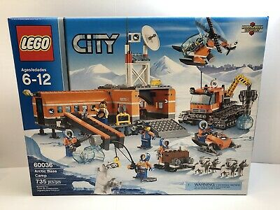 Lego City 60036 - Arctic Base Camp (Retired)