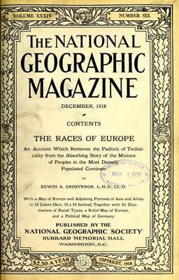 National Geographic Magazine (1888-1922) On Dvd - World Culture Photography Art