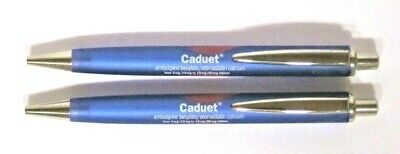 Drug Rep CADUET Collectible Pens x 2 RARE
