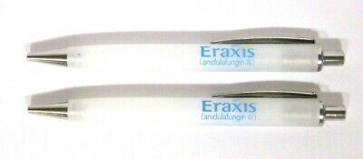Drug Rep ERAXIS Collectible Pens x 2 RARE