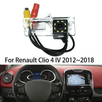Car Rear View Camera For Renault Clio 4 IV 2012- 18 Reverse Backup Parking Cam