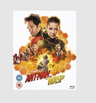 Marvel's Ant-Man and the Wasp [Blu-ray]