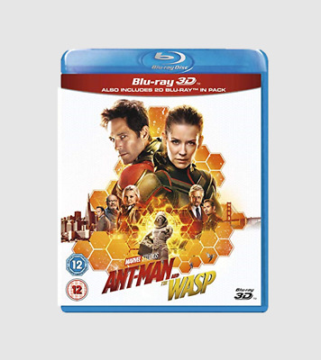 Ant-Man and the Wasp [Blu-ray 3D + 2D]