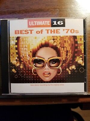 Ultimate 16: Best of the '70s by Various Artists (CD, Feb-2012, Sonoma Entertai…