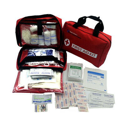 First Aid Kit Family Supplies Survival Medical Workplace Travel Set Cotton Swab