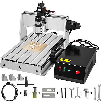 3 Axis CNC Router 3040 Engraving Milling Machine Durable 6061 Aluminium Alloy