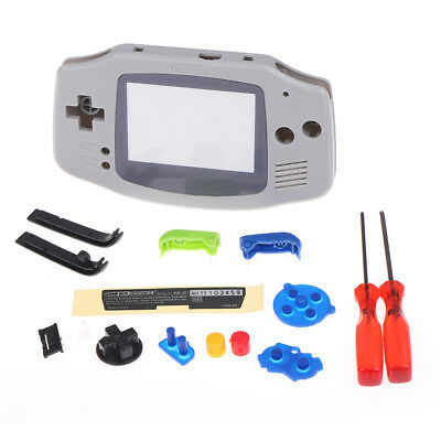 Model grey housing shell case for game boy advance GBA Fw
