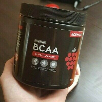 BCAA Amino Acids 300g. | HQ Lab tested in Denmark | 100% Vegan | Black Raspberry