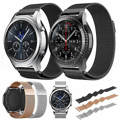Stainless Steel Magnet Watch Band Strap For Samsung Gear S2 Classic, Gear Sport